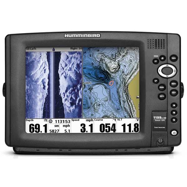 Humminbird 1199ci HD SI Fishfinder / Chartplotter