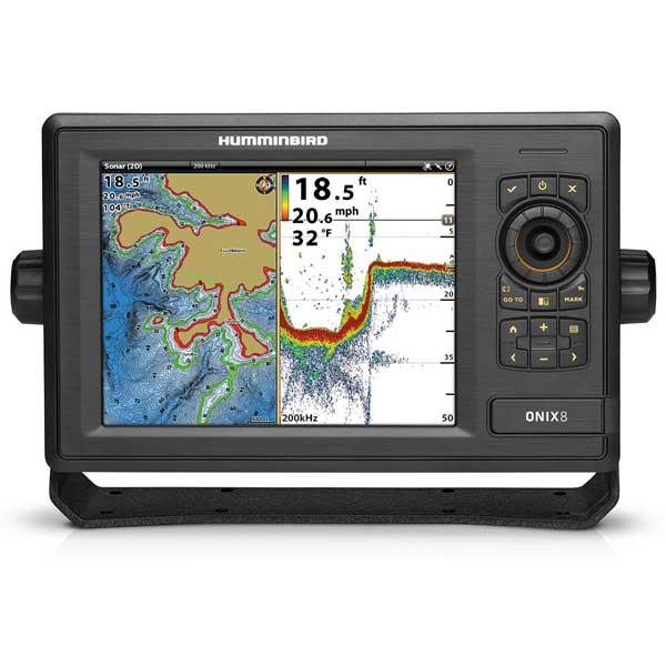 Humminbird onix8ci combo fishfinder gps west marine for West marine fish finders
