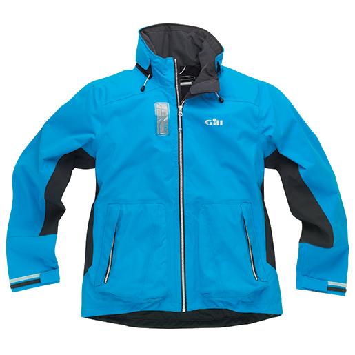 Gill Mens CR11 Coastal Racer Jacket Blue/gray