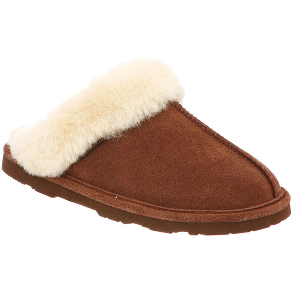 Bear Paw Tackle Women's Loki Slippers Brown