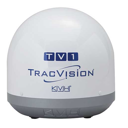 Kvh Industries TracVision TV1 Marine Satellite TV System—North America