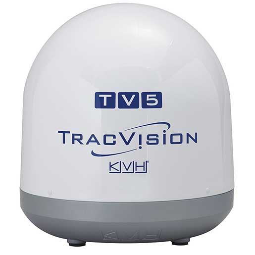 Kvh Industries TracVision TV5 Marine Satellite TV System—North America