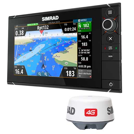 Simrad NSS9 evo2/Broadband 4G Radar Bundle