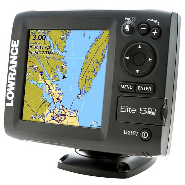 Elite-5m HD Gold Chartplotter