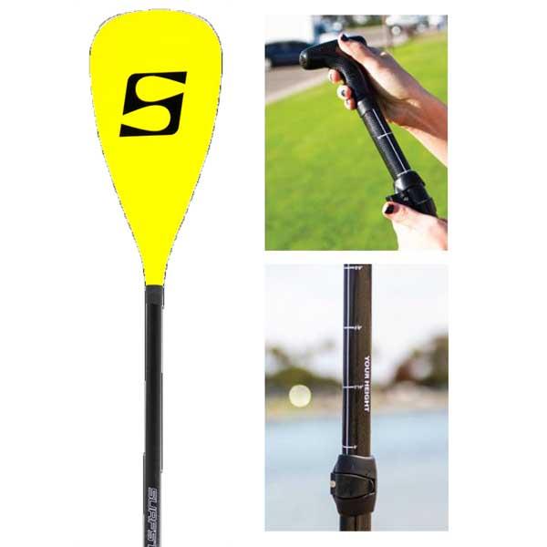 Surfstow SL50 Carbon Fiber Paddle—Yellow Sale $179.99 SKU: 15174865 ID# 50089 UPC# 814154014802 :
