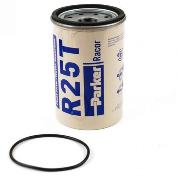 Racor R25T Fuel Replacement Filter, 10 Micron Sale $34.99 SKU: 15183320 ID# R25T UPC# 706672000484 :