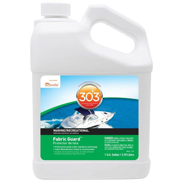 303 Products 303 High Tech Fabric Guard, Gallon Sale $112.99 SKU: 151899 ID# 30670 UPC# 82043006706 :