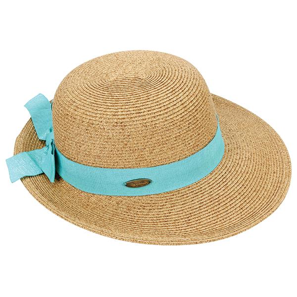 Dorfman Pacific Women's Paper Braid Cloche Blue Sale $24.99 SKU: 15191869 ID# WMCSW164-AQUA UPC# 16698168472 :