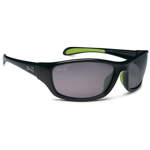 Blacktip Panfish Polarized Sunglasses, Black/gray Frames, Gray Lenses