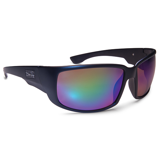 Blacktip Roughshark Polarized Sunglasses, Matte Black Frames, Brown with Black/green Mirror Lenses Sale $59.88 SKU: 15193451 ID# 801MBGM UPC# 45733028013 :