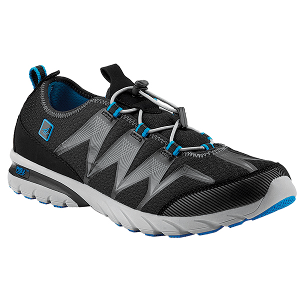 Men's Shock Light Technical Shoes, Black/Blue, 8