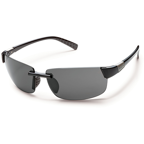 Suncloud Getaway Polarized Sunglasses, Black/gray Frames with Gray Lenses Sale $49.99 SKU: 15209133 ID# S-GEPPGYBK UPC# 715757450670 :