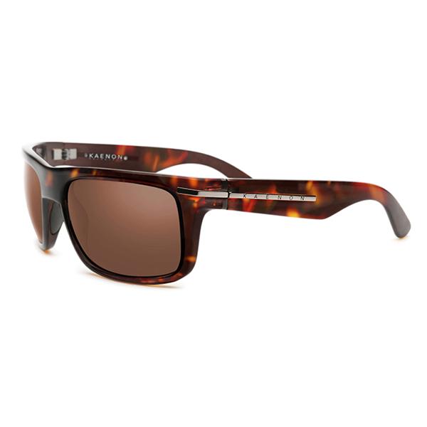 Kaenon Polarized Burnet Sunglasses, Tortoise Brown