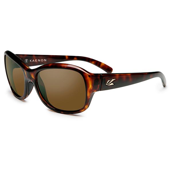 Kaenon Polarized Women's Maya Sunglasses, Tortoise Brown