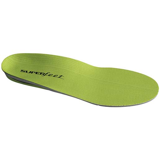 Superfeet Mens Green Insoles