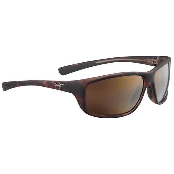 Maui Jim Spartan Reef Sunglasses, Matte Tortoise Frames with HCL Bronze Lenses Brown Sale $239.00 SKU: 15215767 ID# H278-10MR UPC# 603429028725 :