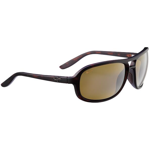 Maui Jim Breakers Sunglasses, Matte Tortoise Frames with HCL Bronze Lenses Brown