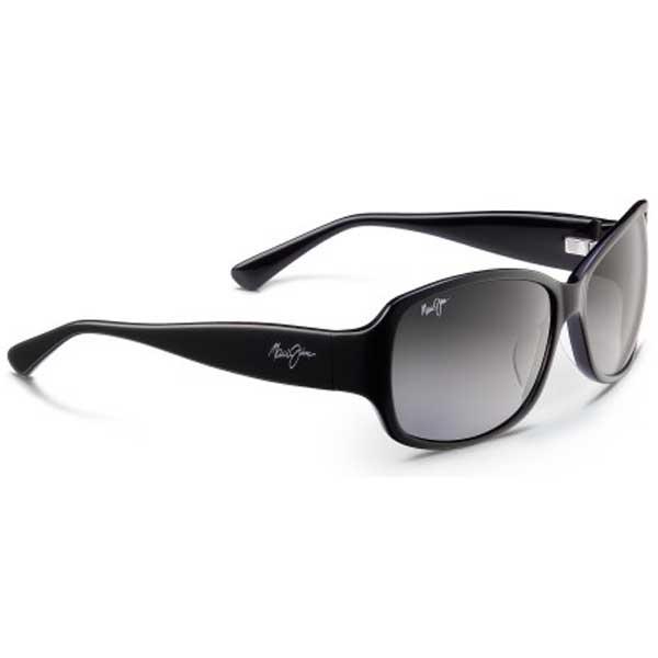 Maui Jim Women's Nalani Sunglasses, Black/gray Frames with Gray Lenses Sale $279.00 SKU: 15215734 ID# GS295-02 UPC# 603429027650 :