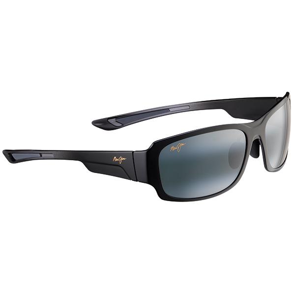 Maui Jim Bamboo Forest Sunglasses, Black/gray Frames with Neutral Grey Lenses Sale $229.00 SKU: 15215643 ID# 415-02J UPC# 603429028541 :