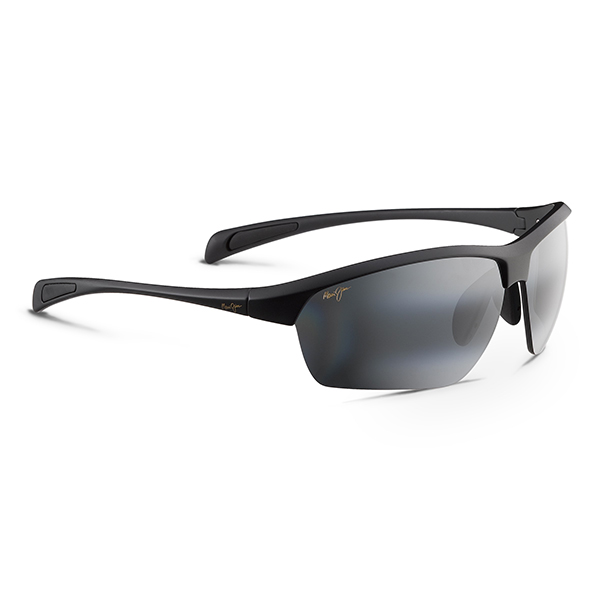 Maui Jim Stone Crushers Sunglasses, Matte Black/gray Frames with Neutral Grey Lenses