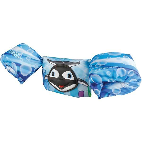 Stearns Kids' Deluxe Puddle Jumper Life Jacket, Bahama Orca
