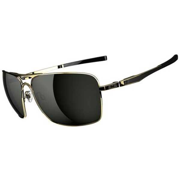 Oakley Plaintiff Sunglasses, Gold Frames with Dark Grey Lenses Gold/gray Sale $150.00 SKU: 15232366 ID# OO4063-02 UPC# 700285589114 :