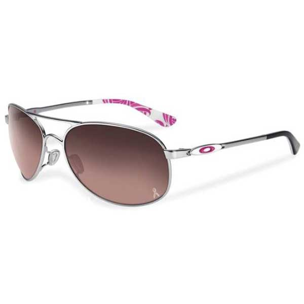 Oakley Women's Given Sunglasses, Chrome Frames with Silver Gradient Lenses Sale $160.00 SKU: 15232382 ID# OO4068-13 UPC# 700285809595 :