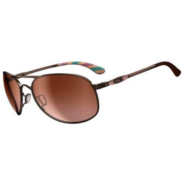 Oakley Women's Given Sunglasses, Rose Gold Frames with Brown Lenses Gold/brown Sale $160.00 SKU: 15232374 ID# OO4068-05 UPC# 700285637303 :