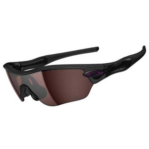 Oakley Radar Sunglasses, Jet Black Frames with Black Iridium Polarized Lenses