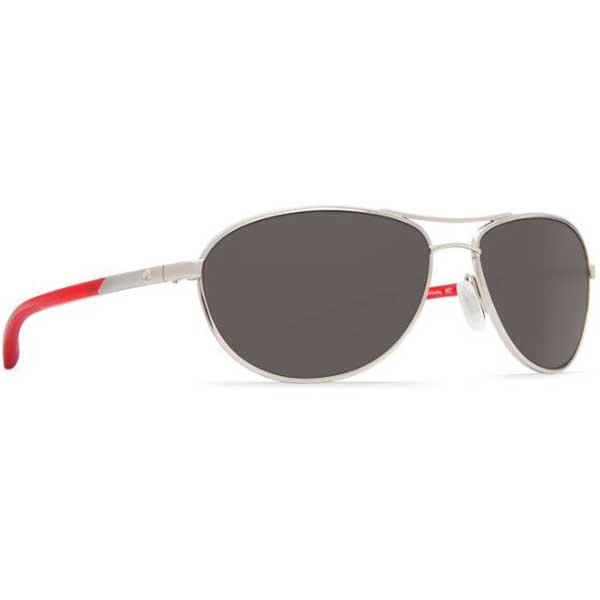 Costa KC Sunglasses, Palladium Red Frames with Grey 580P Lenses Red/gray Sale $199.00 SKU: 15233935 ID# KC 83 OGP UPC# 97963507998 :