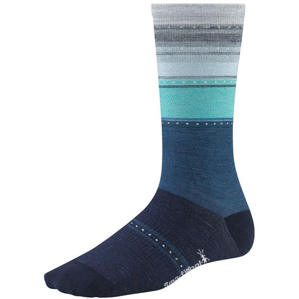 Smartwool Women's Sulawesi Stripe Socks Blue