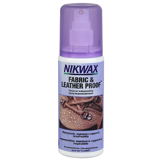 Nikwax Fabric & Leather Proof Waterproofing Spray, 4.2oz.
