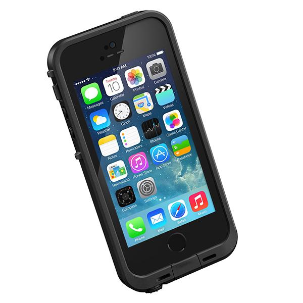 Lifeproof Iphone 5s Fre Waterproof Case, Black
