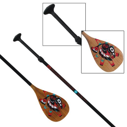 Boardworks Raven Adjustable 2-Piece SUP Paddle