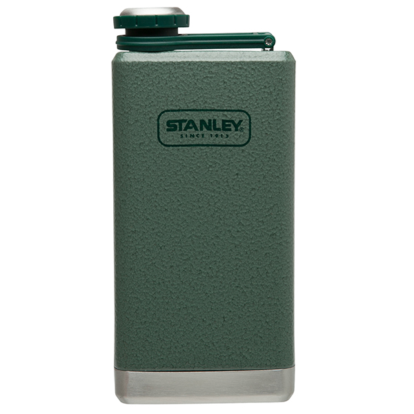 Stanley Stainless Steel Adventure Flask, Green, 8oz. Sale $22.99 SKU: 15323595 ID# 10-01564-001 UPC# 41604250002 :