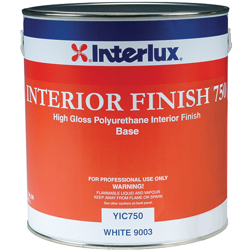 Interlux Interior Finish 750* High-Gloss Polyurethane Finish (Base), Gallon Sale $199.99 SKU: 15326614 ID# YIC750/1 UPC# 81948999427 :