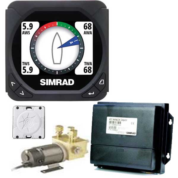 Simrad Is40 Network Repeater  Ac12 Autopilot  Rc24 Rate