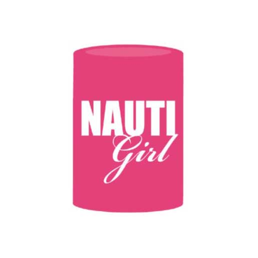 Boatmates Nauti Girl Drink Koozie