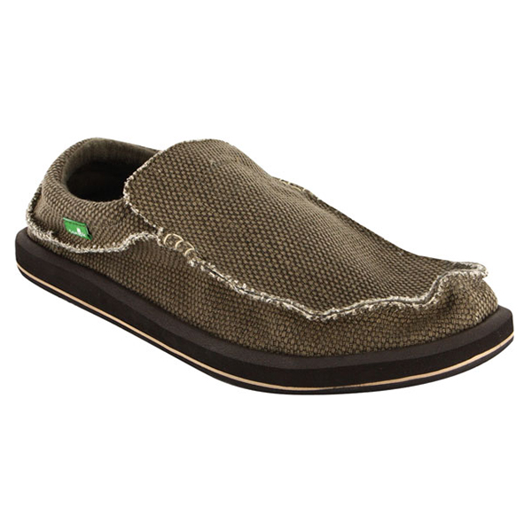 Sanuk Men's Chiba Shoes, Brown, 10