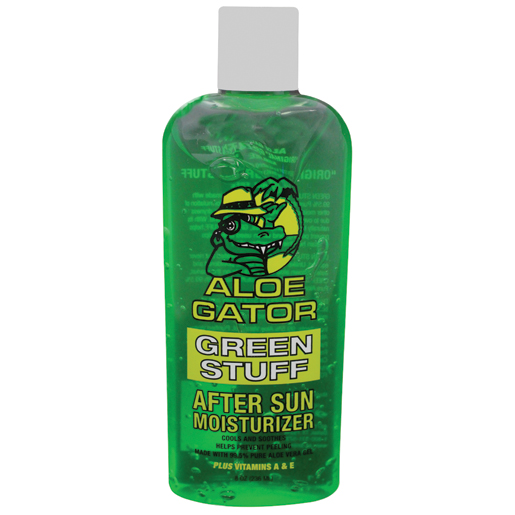 Aloe Gator Green Stuff Aloe Vera Gel, 8oz.