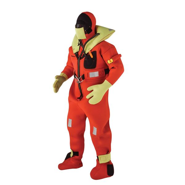 Kent Immersion Suit, Universal, Fits Height: 4'11-6'3, Fits Weight: 110lb.-330lb.