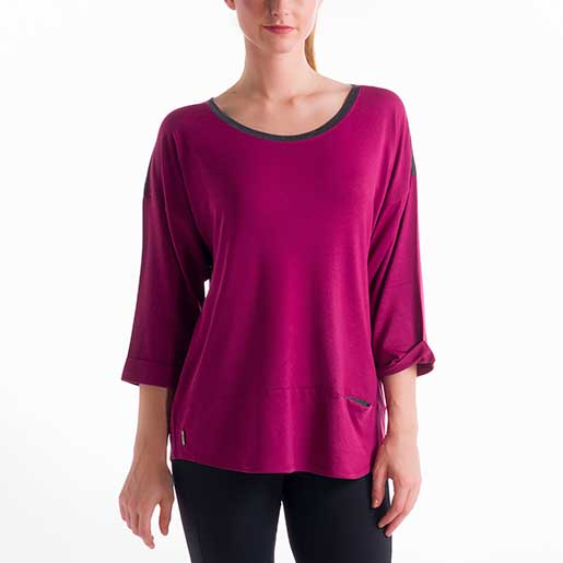 LOLE Womens Madeline Top Pink