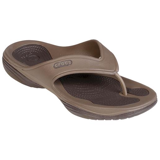 Crocs Mens Modi 2 Flip Brown