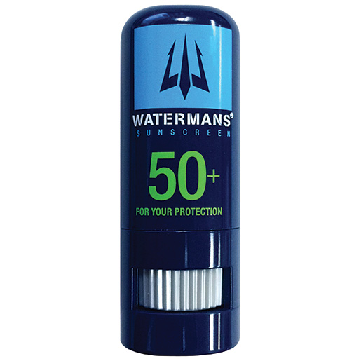 Watermans SPF 50+ Sunblock Face Stick SPF, Micro White, 0.3oz.