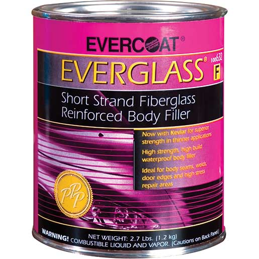 Evercoat Fiberglass Filler, Quart