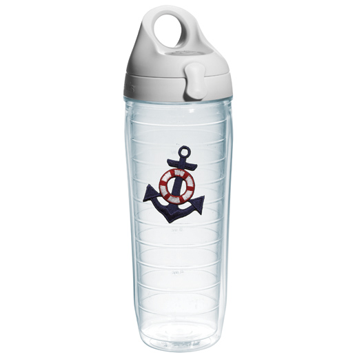 Tervis Blue Anchor Water Bottle Tumbler, 24oz. Sale $24.99 SKU: 15538218 ID# ANCH-I-25-B UPC# 93597455261 :