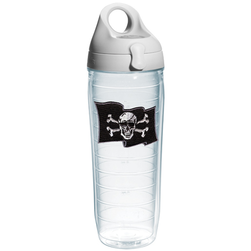 Tervis Pirate Flag Water Bottle Tumbler, 24oz. Sale $24.99 SKU: 15538226 ID# PIFL-I-25-BO UPC# 93597458583 :