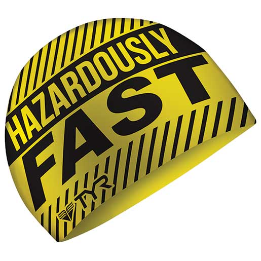 Tyr Sport Swim Cap, Hazardous Yellow