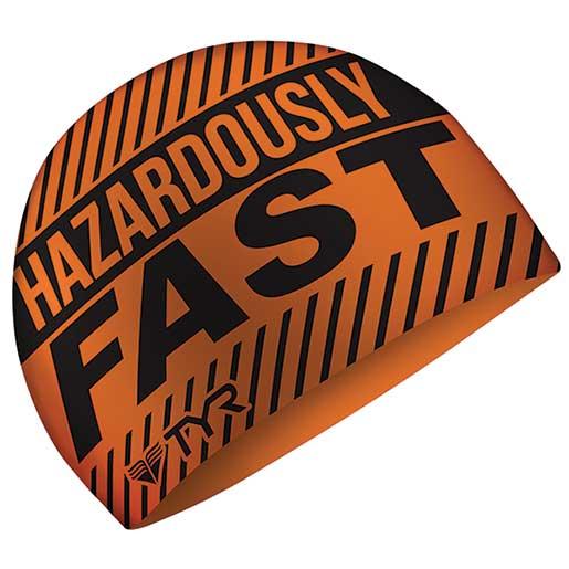 Tyr Sport Swim Cap, Hazardous Orange