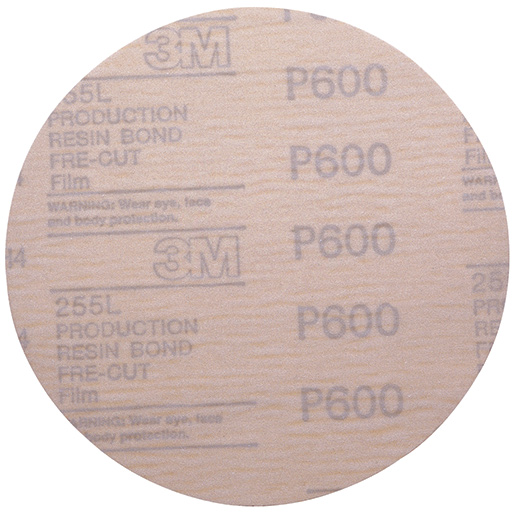 3M Hookit Abrasive Disc, 6, 600 Grit, 100-Pack